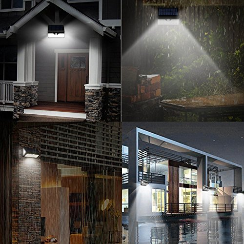 Lamparas solares grde 28 led ultra brillante luz solar con waterproof ip65 y lux 300 luces led Lamparas solares exterior