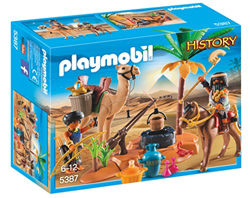 Playmobil - 5387 - Jeu - Pilleurs Egyptiens avec Trésor