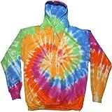 Colortone Felpa Arcobaleno Tecnica Tie-Dye - Unisex