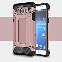 Galaxy J5 (2016) Case, Rugged Tough Dual Layer Armor Case Samsung Galaxy J5 (2016) Protective Case Shockproof Case Cover for Galaxy J5 (2016) [Heavy Duty] [Slim Hard Case] BY AMPLE®