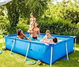 Intex Piscine Tubulaire Métal Rectangulaire 300 x 200 x 75 cm