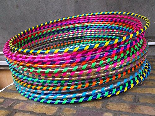 FB FunkyBuys Hula-Hoop-Reifen für Kinder und Erwachsene, 60 cm Durchmesser, 10Stück
