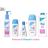 SebaMed Travel Pack Shampoo, Lotion, Powder, Oil and Wash