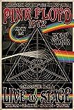 Up Close Poster Pink Floyd The Dark Side of The Moon Tour (61cm x 91,5cm) + Un Joli Emballage Cadeau