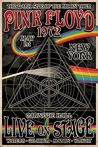 Close Up Pink Floyd Poster Tourplakat The Dark Side of The Moon Tour (61cm x 91,5cm) + Ü-Poster