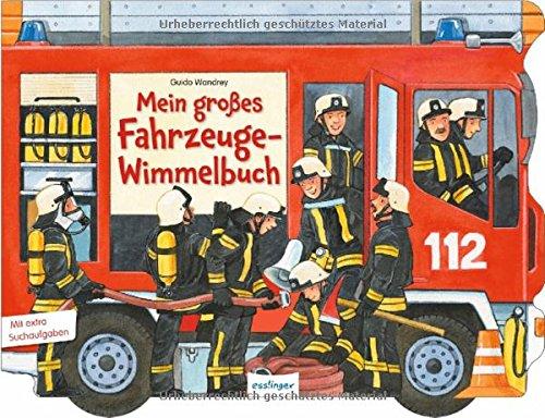 Preisvergleich Produktbild Mein großes Fahrzeuge-Wimmelbuch