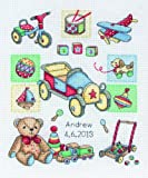 Anchor Sampler Boy Birth SS13 Counted Cross Stitch Kit