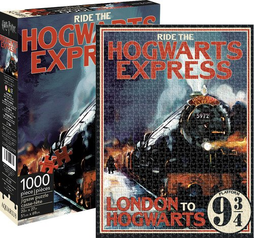 Aquarius Puzzle Harry Potter Hogwarts Express 1000 Piezas