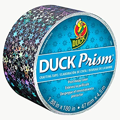 Duck Brand Prism Crafting Tape: 1.88 in. x 15 ft.(Small Stars) by Duck Bladesafe