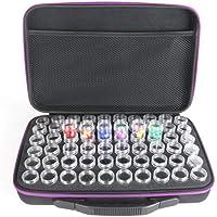 ller76 60 emplacements de Rangement Diamond Painting - boîte de Rangement Diamond Painting - eva Maquillage - Nail Art…