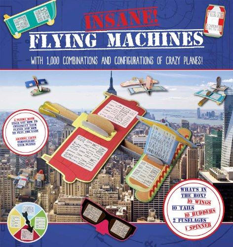 Insane Flying Machines (Box) por Ciara Sarkar