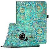 Fintie iPad mini 1 / 2 / 3 Hülle – 360 Grad Rotierend Stand Kunstleder Cover Schutzhülle Case mit Auto Schlaf / Wach Funktion und Stylus-Halterung für Apple iPad Mini 3 / iPad Mini 2 / iPad Mini, Jade