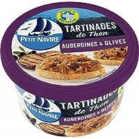 Petit navire les tartinades de thon aubergines & olives 125g - Prix Unitaire - Livraison Gratuite pour les commandes...