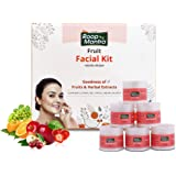 Roop Mantra Fruit Facial Kit For Healthy Skin 240gm, Oily Skin, Dry Skin, All Skin Types (Cleansing Milk, Face Scrub…