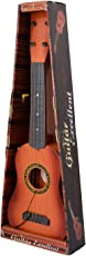 """Tickles 4-String Acoustic Guitar Learning Kids Toy, Brown 18"""""""