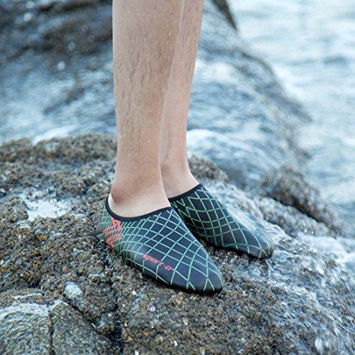 Sapatos Surf Negras Sapatos Unissex Do Água De Sapatos Aqua Sapatos Senhoras Para Sapatos Homens De Respirável De Sapatos Aqua Praia Sapatos Banho De Crianças Dorkasde Flutuantes p7w6Iqn44