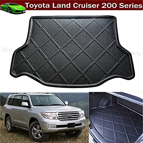 1pcs Car Boot Mat Boot Tray Boot Liner Rear Trunk Cargo Liner Cargo Mat Cargo Tray Floor Mat Carpet Custom Fit For Toyota Land Cruiser 2008 2009 2010 2011 2012 2013 2014 2015 2016 2017