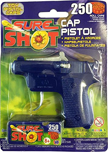 sure-shot-cap-pistol-with-250-caps
