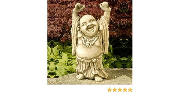 Kretakotta lachender Buddha mit erhobenen H/änden