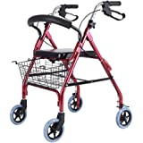Rollators Rollator Walker Rolling Walkers Fold Rollator Rollator Adjustable Height Walkers For Seniors Walker With Seat Shopp