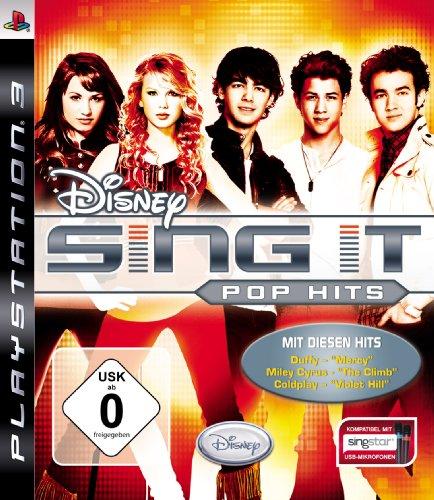 Disney Sing It - Pop Hits (Disney-karaoke-playstation 3)