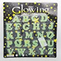 Glow in the Dark Alphabets Set of 26 alphabets ( A-Z ) by GN Enterprises from GN ENTERPRISES