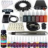 Wsj Tattoo Maschine Set Beauty Make-up Maschine Komplettset ( Farbe : EK101-6 Silver )
