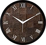 IT2M 11.75 Inches Designer Wall Clock for Home/Living Room/Bedroom / Kitchen (9177)
