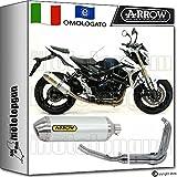 Arrow Auspuff Komplett Hom Racetech Aluminium Suzuki GSR 75020151520161671776AO + 71444Ich + 71443Ich