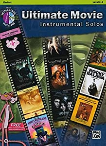 Ultimate Movie Instrumental Solos: Clarinet (Book & CD) (Pop Instrumental Solo)