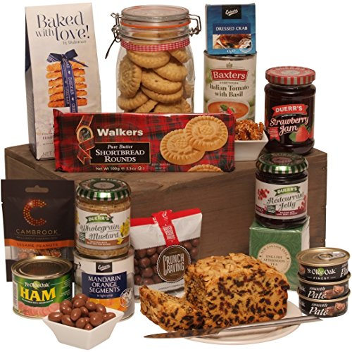 The Balmoral Food Hamper - Delicious Gourmet Gifts & Food Gift Hampers