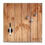 Zeller 11650 Memobord Wood, Glas, ca. 40 x 40 x 2 cm