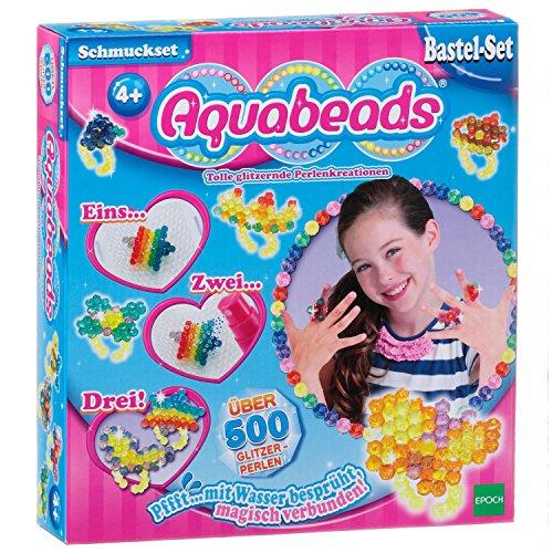 Aquabeads 79438 Schmuckset Bastelset für Kinder - Mädchen Spielen Schmuck-set