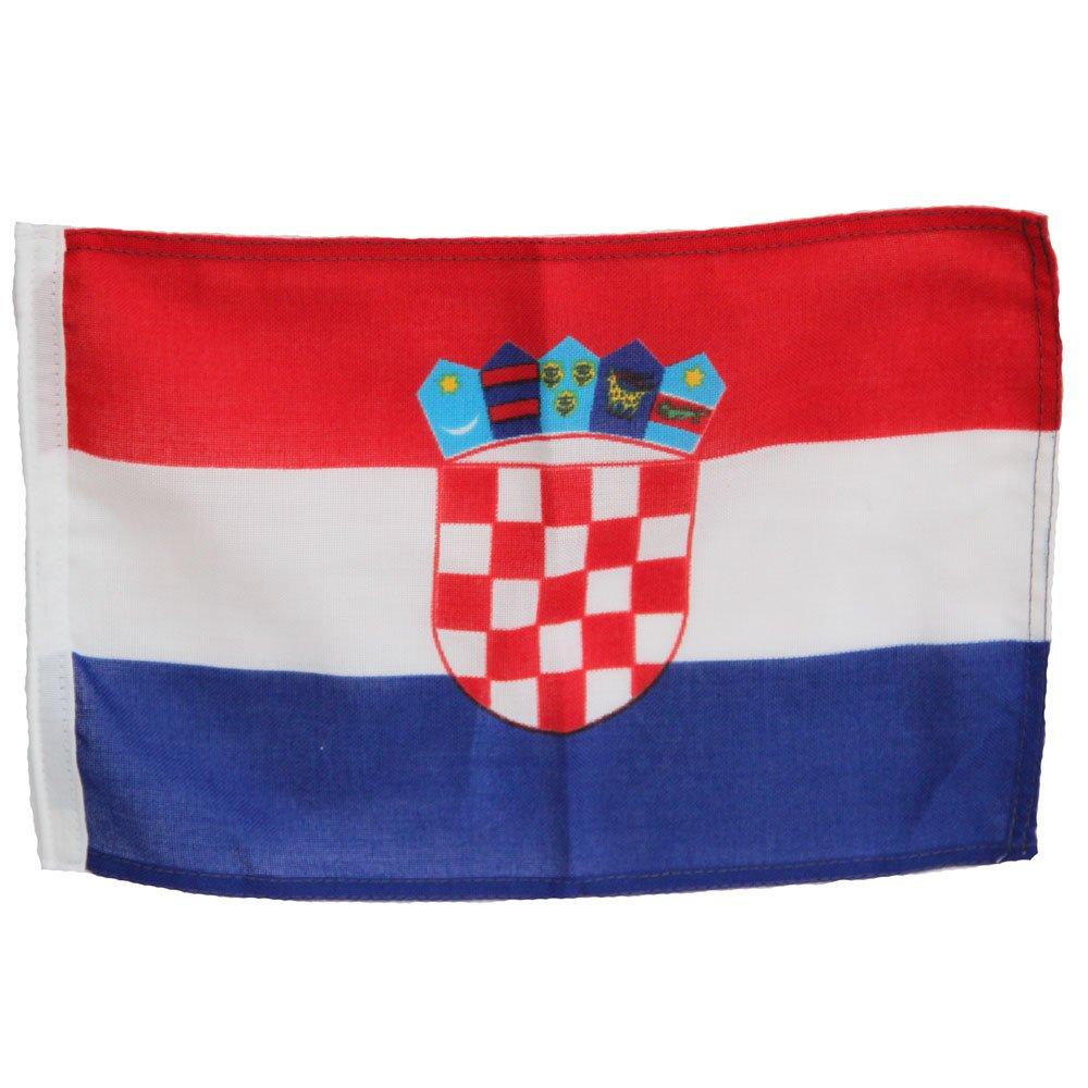 Bootsflagge Kroatien 20 x 30 cm