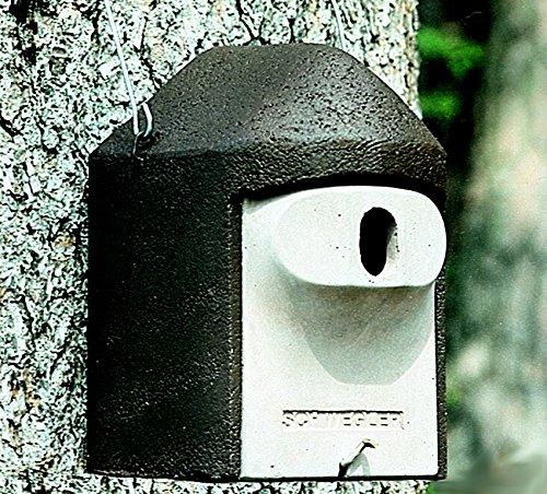 Schwegler Naturschutzprodukt Nisthöhle Nistkasten Vogelhaus Typ 2GR oval Flugloch 30 x 45 mm