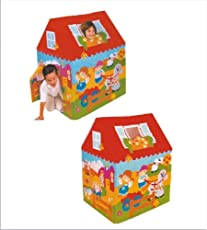 Shop & Shoppee Kids House Big Size Tent, Playhouse -- Fun Cottage for Indoor or Outdoor Activity (Multicolor)