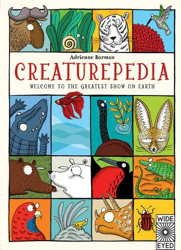 Portada del libro Creaturepedia (Wide Eyed) by Adrienne Barman (2015-03-05)
