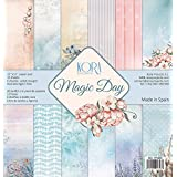 Pack Papeles Scrapbooking Magic Day