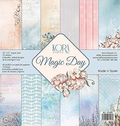 Magic Day - Scrapbooking paper pad (12) of 12'x12'