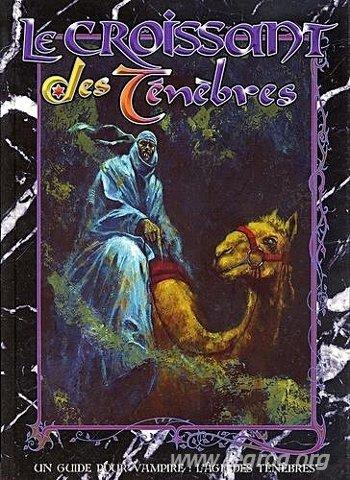 Le croissant des ténèbres (Vampire, l'âge des ténèbres) par Cédric Perdereau