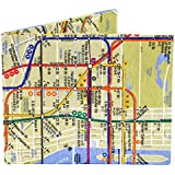 Tyvek Bi Fold Dynomighty NYC Subway Map Mighty Wallet