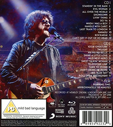 Jeff Lynne's Elo: Wembley Or Bust,2 CD + 1 BR