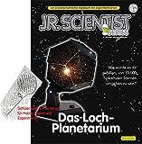 Gakken Planetarium Bausatz mit Buch Sternenhimmel Projektor mit Extra Handlupe 2fache und 5fache Vergrößerung