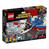 LEGO Super Heroes Captain America Jet Pursuit 76076 Building Kit (160 Pieces)