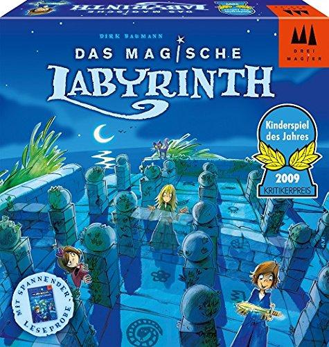 Drei Magier Spiele 40848 - Das magische Labyrinth, Kinderspiel des Jahres 2009 Brettspiel, Das Magische Labyrinth
