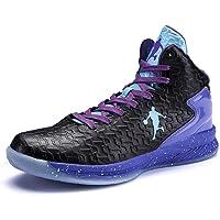 Scarpe da Basket Uomo High-Top Ammortizzazione Luce Anti-Scivolo Traspirante Outdoor Sport Scarpe Uomo Sneakers