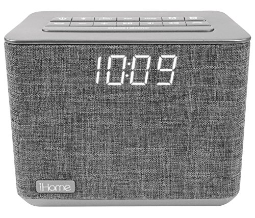 iHome ibt232 Bluetooth Dual Radiowecker Schwarz (Radiowecker Ihome)