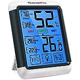 ThermoPro TP55 digitales Thermo-Hygrometer Innen Thermometer Hygrometer Temperatur und Luftfeuchtigkeitmessgerät mit…
