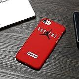 Air Jordan Kompatibel mit iPhone 6/6S Handy Cover Schutzhülle Handyhülle Sup Jordan Michael Jordan Chicago Bulls Supreme (rot