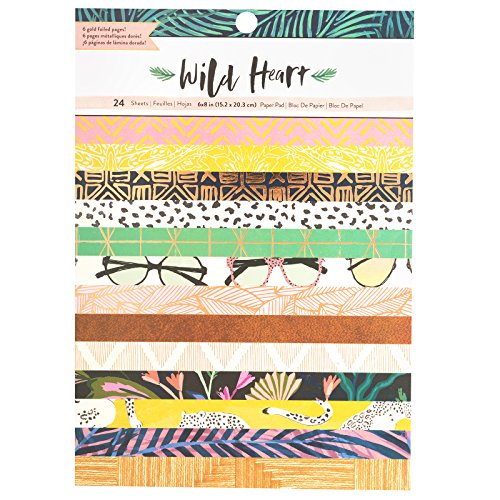 American Crafts Crate Paper Single-Sided Card Making Pad 6